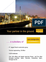 Spie Fondations UK - Profile - 2014