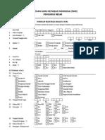 Formulir Registrasi Anggota PGRI