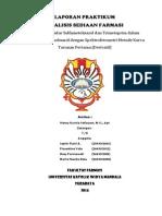 PENETAPAN KADAR SULFA & TRIMET SECARA DERIVATIF