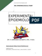Eksperimental EPIDEMIOLOGY Baru 2012_8 Oktober 2012
