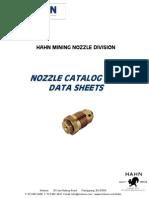 Hahn Nozzle Catalog 2011