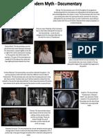 Frankenstien a Modern Myth - Analysis of Documentary