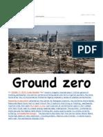 Ground Zero - Deleterious Disposal