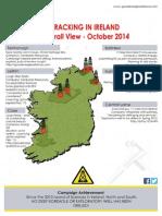 Fracking in Ireland. Overview October 2014