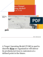 What is a Target Operating Model v2