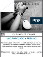 LOS RIESGOS  DEL INTERNET.pptx