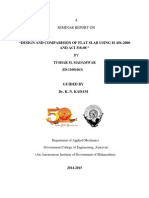 Seminar Report DESIGN AND COMPARISION OF FLAT SLAB USING IS 456-2000 AND ACI 318-08