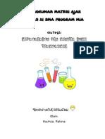 Rangkuman Materi Ajar Kimia