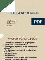 Tata Kerja Kamar Bedah, Teknik Operasi Minor Dan Penyembuhan Luka