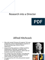 Research Into a Director
