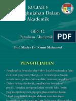 Kuliah 5 Penghujahan Dalam Akademik.ppt