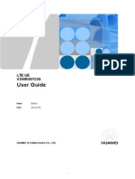 LTE UE User Guide-(V200R007C00).doc