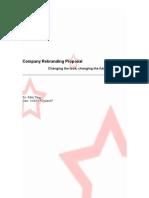 Company Rebranding Proposal