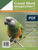 Good Bird Magazine Vol4 Issue3