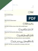 Surat Al Haqqah