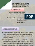 Fonem Suprasegmental Dalam Bahasa Melayu