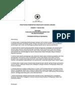 Peraturan Pemerintah Pengganti Undang-Undang Nomor 1 Tahun 2000 tentang Kawasan Perdagangan Bebas dan Pelabuhan Bebas