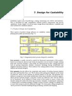Design for Castability