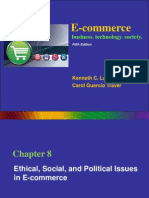 E-Commerce - Ethical, Social and Political Issues - 5E