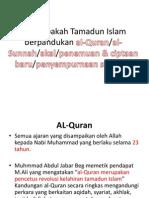 Mengapakah Tamadun Islam berpandukan al-Quran.pptx