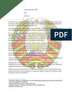 Position Paper Belarus,  Agenda