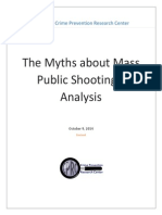 The Myths about Mass Public Shootings