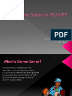 game sense in pd