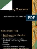 Designing Questioner 2