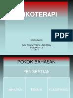 Psikoterapi - Prof. Dr. Aris Sudyanto, dr., SpKJ.ppt
