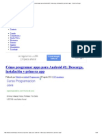 Cómo programar apps para Android #1_ Descarga, instalación y primera app - Como Lo Hago.pdf