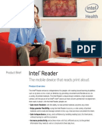 productbrief intel reader