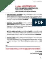 Discipline La Alegere 2014-2014 - Definitivare Inscrieri 10.2014