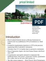 Pricol Ltd | Rail Transport | Car