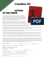 ISJ Order Form 144