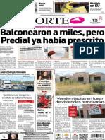 Periódico Norte edición impresa del día 13 de octubre de 2014