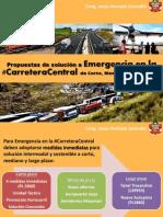 #CarreteraCentral