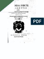 Seconda parte dell'Artusi ouero Delle imperfettioni della moderna musica / Artusi, Giovanni Maria