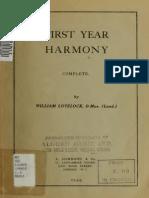 First Year Harmony Lovelock