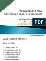 Laserscope Laser Equipments for Sale.pdf