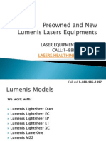 Lumenis Laser Equipments for Sale.pdf