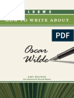 (Bloom_s How to Write About Literature) Amy Watkin, Harold Bloom-Bloom_s How to Write About Oscar Wilde -Chelsea House Publications (2009)