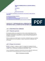 CAPITULO 5 - PROPIEDADES DEL HORMIGON FRESCO Y CRITERIOS PARA LA DOSIFICACION DE MEZCLAS .doc