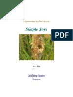 Simple Joys by Piya Tan 2009