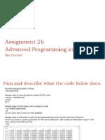 Assignment 2b
