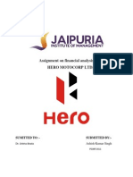 Hero Motocrop Ltd