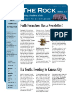 Faith Formation Newsletter