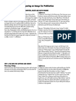 prepareimagespublication nine steps