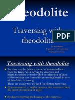 introduction of Theodolite,traversing by theodolite,error in traversing