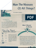 AMORC Is Man the Measure of All Things (Flyer 1957)