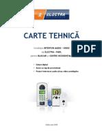 Carte Tehnica Interfon Bloc